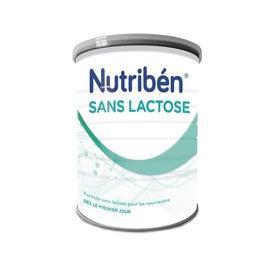 Nutribén® Sans Lactose Lait pour nourrissons 400g