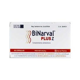BiNarval Plus® 760mg 60 gélules