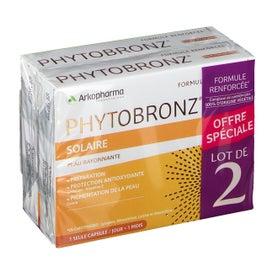 Arkopharma Phytobronz Préparation Solaire 2x30 Capsules