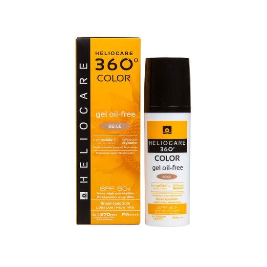 Heliocare 360° Color Gel Oil-Free SPF 50+ Beige 50 ml