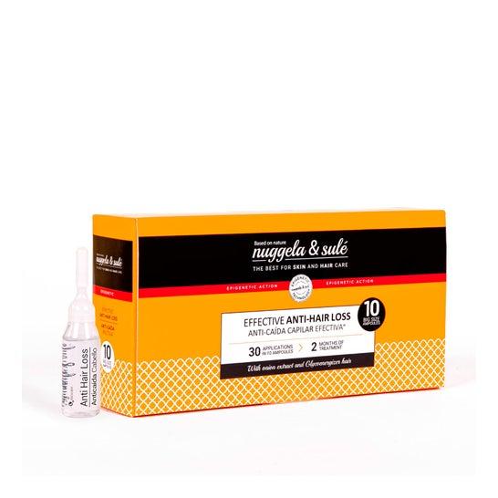 Nuggela & Sulé Premium Traitement Antichute 10 ampoules
