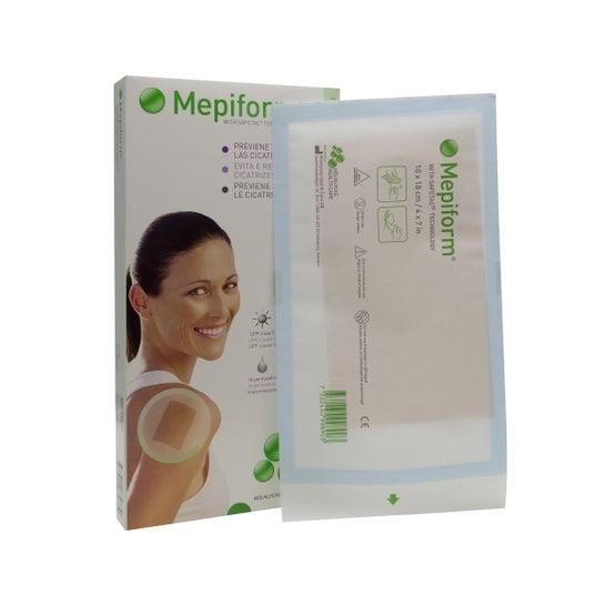 Mepiform Réducteur de Cicatrices 10 x 18 cm 5 unités