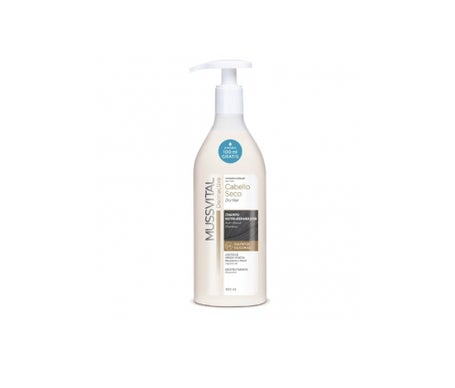 Mussvital Shampooing Dermactive cheveux secs 400ml