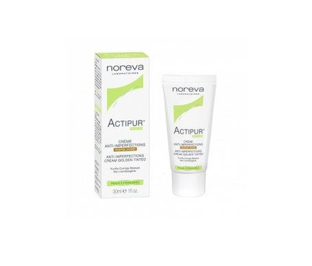 Noreva Actipur Crème AntiImperfections Teintée Dorée 30ml