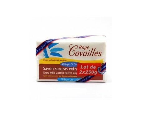 Rogé Cavaillès Savon Surgras ExtraDoux Fleur De Coton 250g Lot De 2