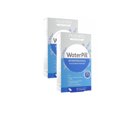 Nutreov Water Pill Rétention D'Eau 30 Comprimés Lot De 2