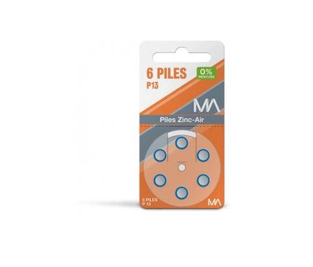 Marque REFERENCE Piles P13 plaquette de 6