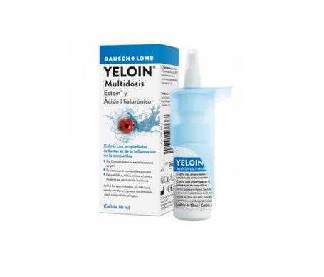 Bausch & Lomb, Inc. Yeloin multidose 10 ml Colirio
