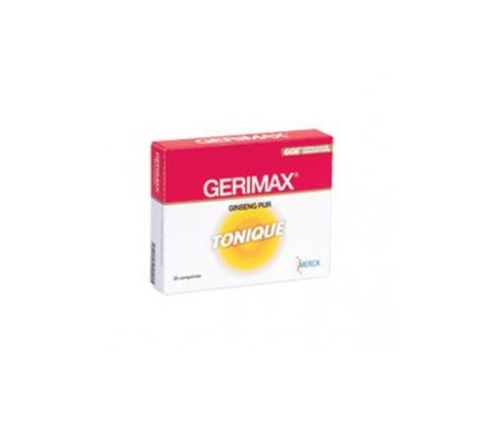 Merck gerimax ginseng Pur Tonique 30 Comprimés