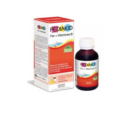 Pediakid Fer+Vitamines Sirop 125 ml