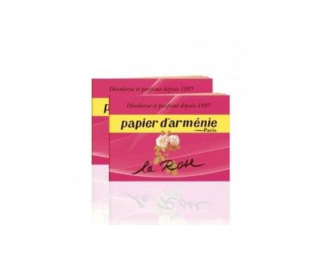Papier D'Arménie Rose Le Carnet