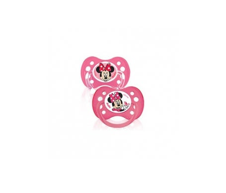 Dodie Disney Sucette Anatomique Silicone Duo Minnie +6mois