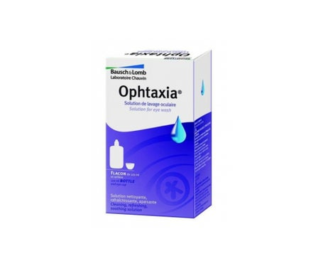 Bausch & Lomb Ophtaxia Solution Oculaire 120mL + Oeillere