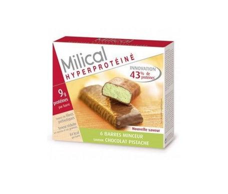 Milical Barre Hyperproteinée Chocolat Pistache