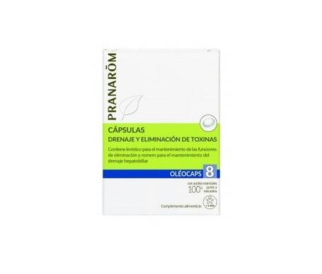 Pranarôm Oléocaps 8 Drainage & Détoxination 30 capsules