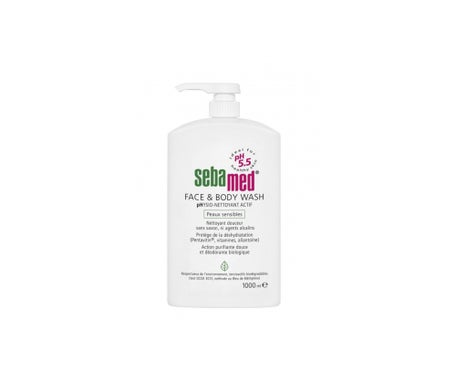 Sebamed gel Douche Visage & Corps PhysioNettoyant Actif 1L