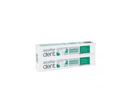 Acofardent dentifrice anti-caries 75ml+75ml