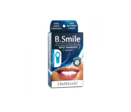 Diet World B Smile Dents Blanches 1 gomme