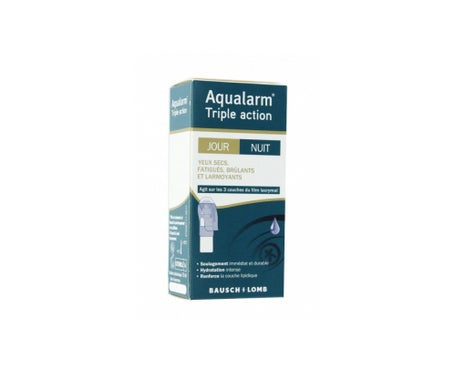 Bausch & Lomb Aqualarm Triple Action 10 ml
