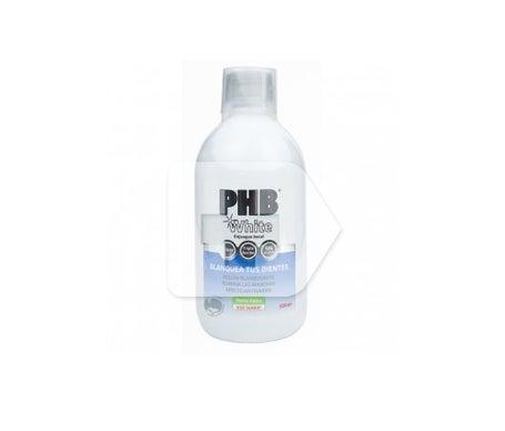 PHB Bain de bouche blanc 500ml