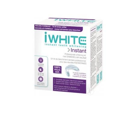 IWhite Kit de Blanchiment Dentaire 10 gouttières