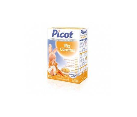 Picot C'r'ales Riz Carottes dŠs 4 mois 200g