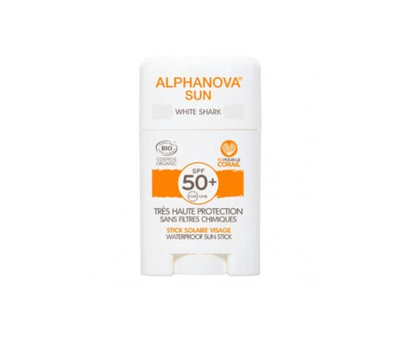 Alphanova Sun Bio SPF50+ Stick White Shark 12g