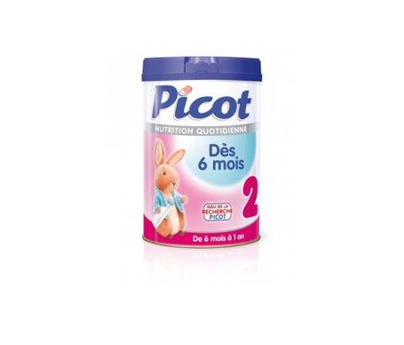 Picot Nutrition Quotidienne Lait deuxiŠme ƒge (dŠs 6 Mois) 1500g