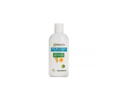 Notaliv bodymilk calendula et huile d'olive 400ml