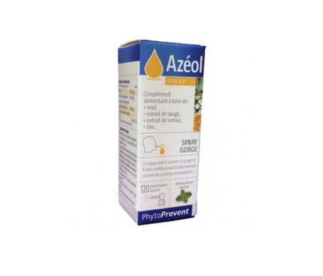 Pileje Azéol Spray Gorge 15mL