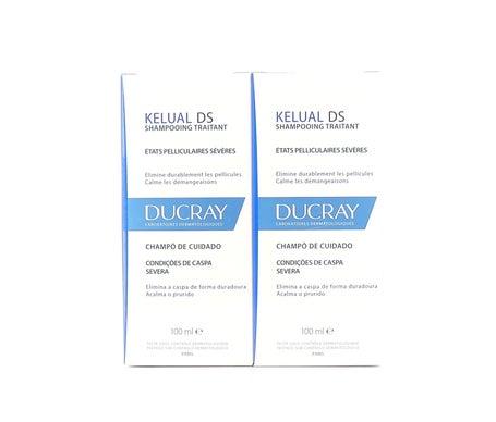 Ducray Kelual Shampoo Anti-Pelliculaires 2x100ml