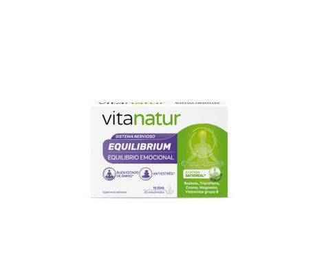 Vitanatur Equilibrium 30 comprimés