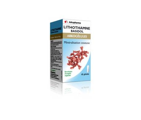 Arkopharma Arkogélules Lithothamne Basidol 150 gélules