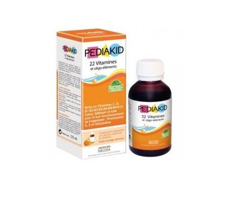 Pediakid 22 Vitamines & OligoEléments 125 ml