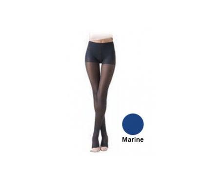 Sigvaris Diaphane Classe 2 Collant Femme Microfibre Marine Taille M Hauteur Normale