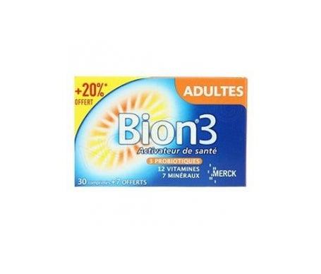 Bion 3 Adultes 30 Comprimés + 7 Offerts