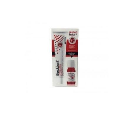 Bexident™ Dentifrice Anti-caries 125 ml + Bain de bouche 60 ml