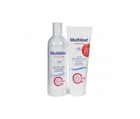 Multilind™ shampooing doux 400ml + revitalisant 250ml