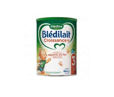 Blédina Blédilait Croissance+ lait 3ème âge 800 g