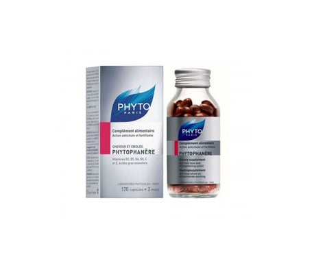 Phyto Phytophanère Cheveux et Ongles 120 capsules