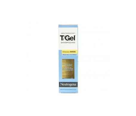Neutrogena T/Gel Shampooing Cheveux Secs antipelliculaire 250ml