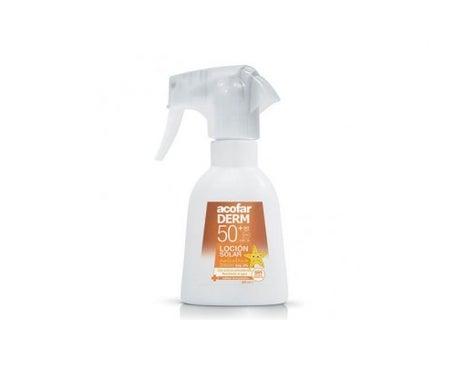 Acofarderm SPF50+ 200ml spray solaire pédiatrique