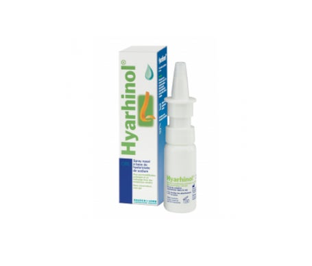 Baush & Lomb Hyarhinol Spray Nasal à Base de Hyaluronate de Sodium 15mL
