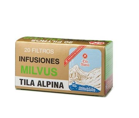 Milvus Tila Alpina Infusion 20 sachets