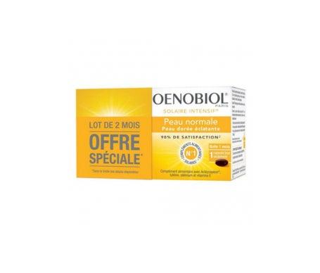 Oenobiol Solaire Intensif Peau Normale 2 x 30 Capsules