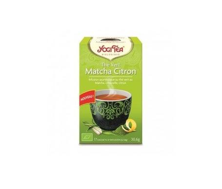 Yogi Tea Infusion Bio Thé Vert Matcha Citron 17 sachets 30,6g