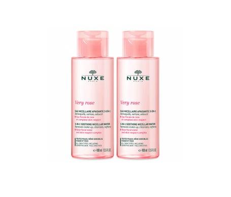 Nuxe Very Rose Eau Micellaire Apaisante 3 en 1 2x400ml