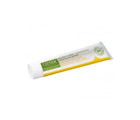Cattier Dentargile Dentifrice Citron 75 ml