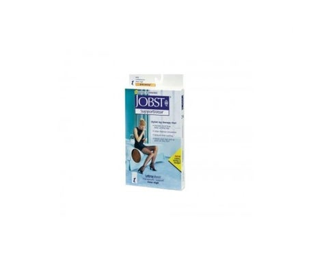 Jobst long stocking (A-F) lacet normal compression normale noir taille 2