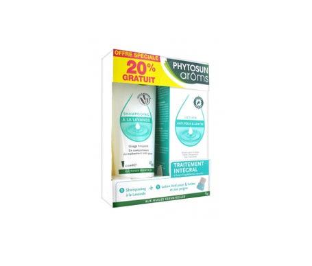 Phytosun Aroms Coffret AntiPoux Lotion AntiPoux + Shampooing Lavande